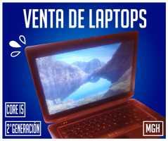 Vendo laptop core i5 segunda generacio sem-iusada