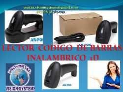 LECTOR CODIGO DE BARRAS INALAMBRICO