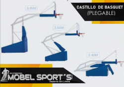 TABLERO DE BASKET-PLEGABLE MOVIBLE-MOBELSPORT´S