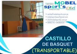 TABLERO DE BASQUET FIJO TRANSPORTABLE - MOBEL SPORT´S