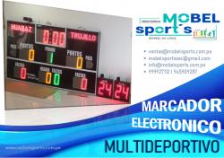 MARCADOR ELECTRONICO DEPORTIVO-MOBEL SPORTS