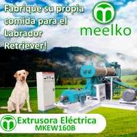 Extrusora para pellets flotantes para perros 1700-2000kg/h 90kW - MKEW160B