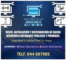 venta y servicio de instalación de tv rack en trujillo
